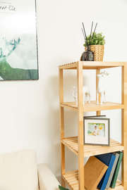 Fraser Country 5-Tier Solid Wood Shelf Unit