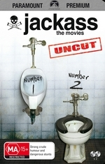 Jackass - The Movies: Number 1 / Number 2 - Uncut (2 Disc) on DVD