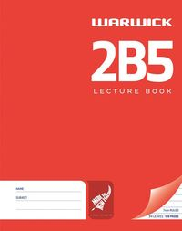 Warwick 2B5 94lf 7mm Ruled Lecture Book