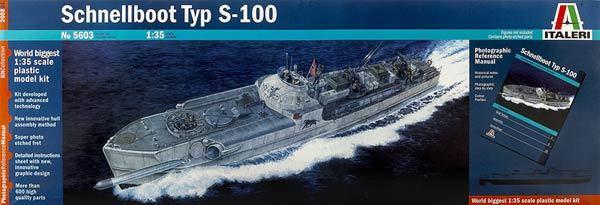 Italeri: 1:35 German Schnellboot (WII) - Model Kit