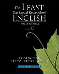 The Least You Should Know About English by Paige Wilson