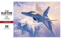 Hasegawa: 1/48 F-22A Raptor - Model Kit image