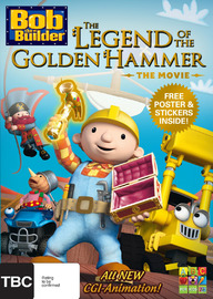 Bob the Builder: The Legend of the Golden Hammer on DVD