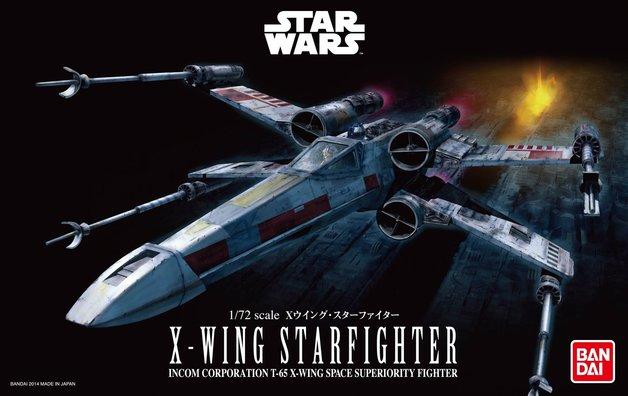 Star Wars 1/72 X Wing Fighter - Scale Model Kit