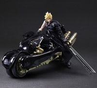 Final Fantasy: Cloud Strife & Fenrir - Play Arts Kai Figure Set