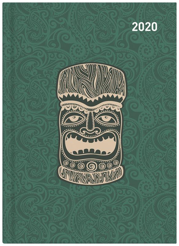 Collins: 2020 Daily A51 Diary - Maori Toanga (Green)