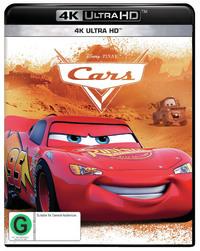 Cars (4K UHD) on UHD Blu-ray