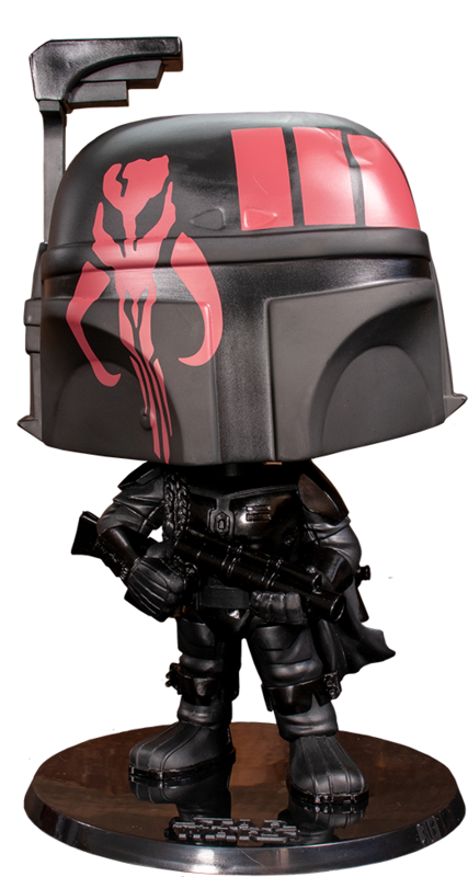 "Star Wars: Boba Fett (Black Ver.) - 10"" Super Sized Pop! Vinyl Figure"