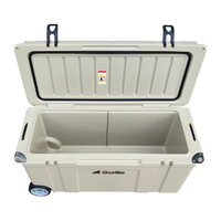 Gorilla Heavy Duty Ice Box Chilly Bin with Wheels 120L image