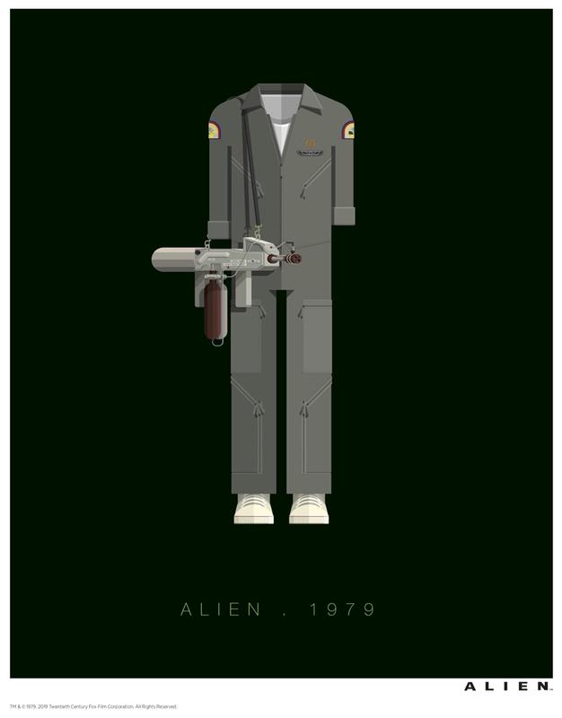 Alien: Premium Art Print - Fred Birchal