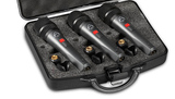 Wharfedale DM5.0s Dynamic Mic (3 Pack)