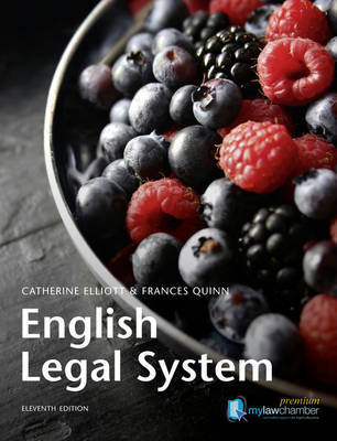 English Legal System by Catherine Elliott