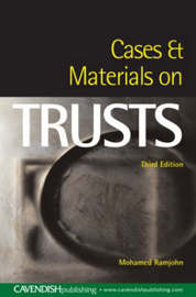 Cases and Materials on Trusts by Mohamed Ramjohn image