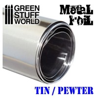 Flexible Metal Foil- Tin/Pewter