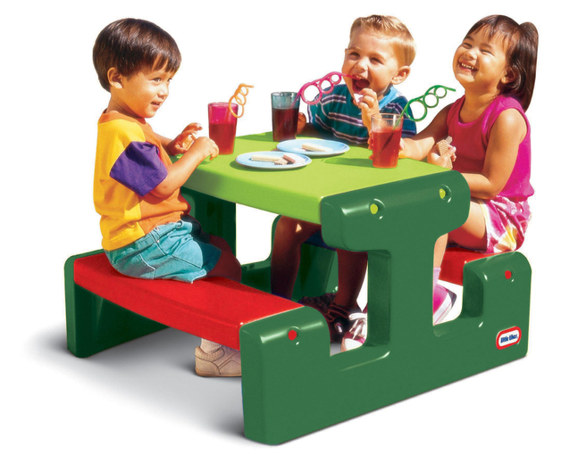 Little Tikes: Junior Picnic Table - Evergreen