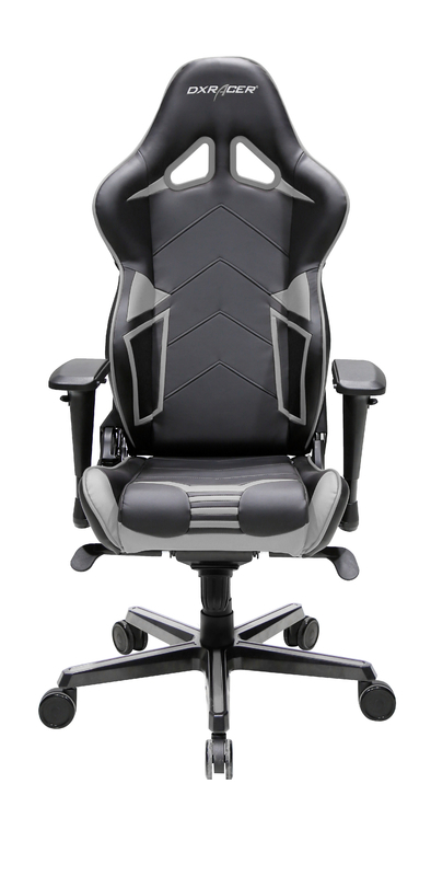 DXRacer Racing Series RV131 Gaming Chair (Grey) for