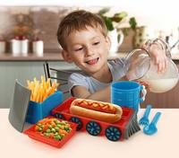 Chew Chew Train Dinner Set (Blue)