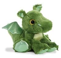 Aurora: Sparkle Tales - Roar Green Dragon (30cm)