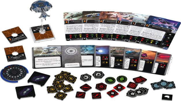 Star Wars X-Wing Second Edition HMP Droid Gunship Expansion Pack