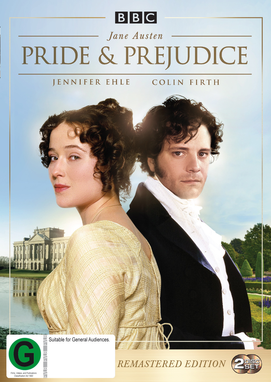 Pride and Prejudice Remastered on DVD image