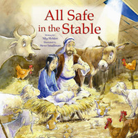 All Safe in the Stable by Steve Smallman image