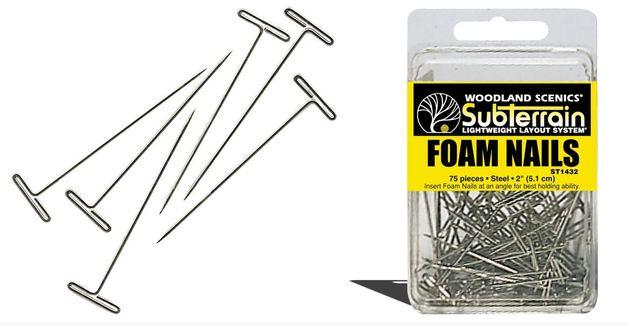 Woodland Scenics Foam Nails (75 pack)