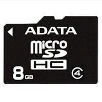 8GB ADATA - MicroSDHC Card (Class 4)