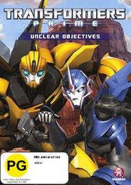 Transformers Prime: Unclear Objectives - Season 2, Volume 4 on DVD