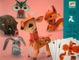 Djeco: Design - Pretty Wood Papercraft