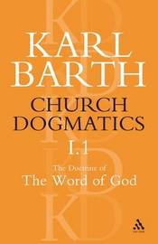 Church Dogmatics Classic Nip I.1 by Barth image