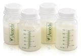 Ameda: Breast Milk Storage Bottles (4 Pack)