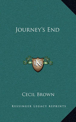 Journey's End by Cecil Brown image