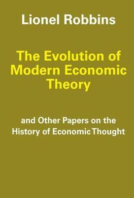 The Evolution of Modern Economic Theory by Lionel Robbins image