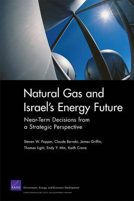 Natural Gas and Israel's Energy Future by Steven W Popper image