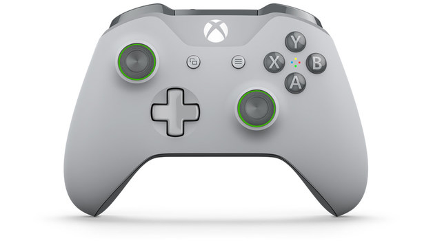 Xbox One Wireless Controller - Grey/Green (with Bluetooth) for Xbox One