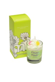 Bomb Cosmetics Piped Candle - Flower Power