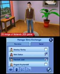 The Sims 3 for 3DS