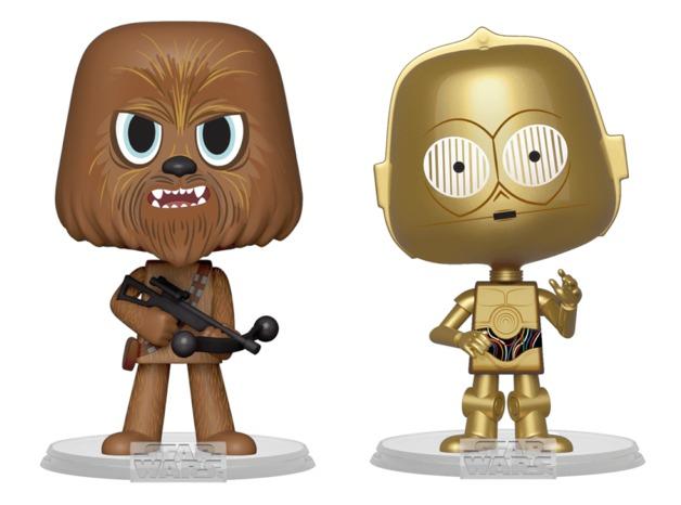 Star Wars: Chewbacca + C-3PO - Vynl. Figure 2-Pack
