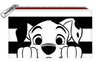 Loungefly: 101 Dalmatians Striped Purse - Peekaboo Pup