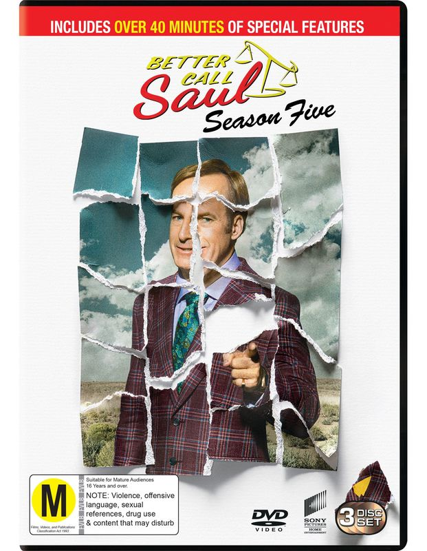 Better Call Saul: The Complete Fifth Season on DVD