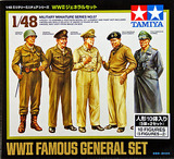 Tamiya WWII Famous General Set 1:48 Kitset Model