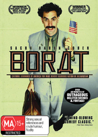 Borat on DVD