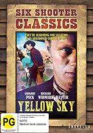 Yellow Sky (Six Shooter Classic) on DVD
