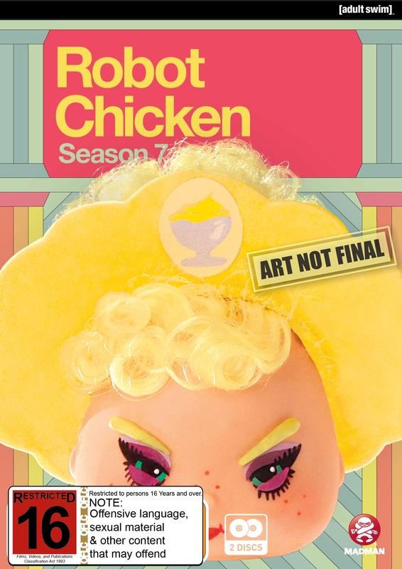 Robot Chicken: Season 7 on DVD