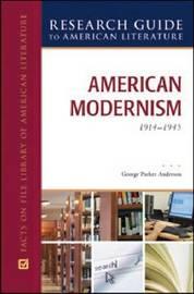 AMERICAN MODERNISM, 1914-1945 image