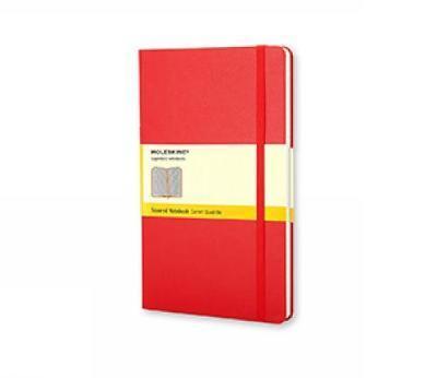 Moleskine Squared Notebook (Large, Hard, Red) by Moleskine image