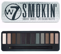 W7 Smokin Eyeshadow Compact