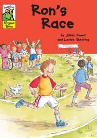 Leapfrog Rhyme Time: Ron's Race by Jillian Powell image