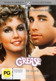 Grease on DVD image