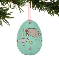 Pusheen: Tin Egg Ornament - Easter Egg Hunt